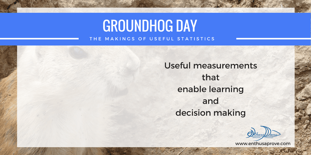 Groundhog Day and the Makings of Useful Statistics