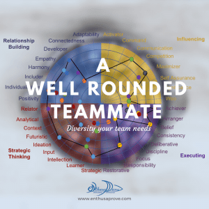 A well rounded teammate
