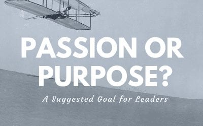 Passion or Purpose – What's Enabling Your Joy?
