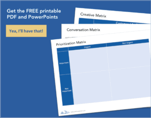 3 Simple Matrices Printable