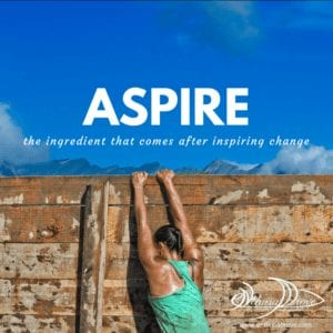 Aspire The ingredient after inspiring change