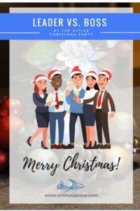 Christmas Party Blog Leader v Boss