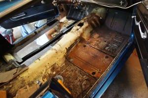 1966 Mustang Floor Pan Replacement