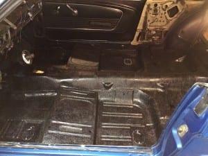 Mustang Floor Pan Install Complete