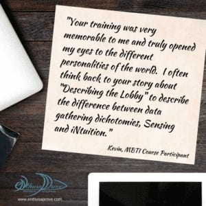 Memorable Training Testimonial